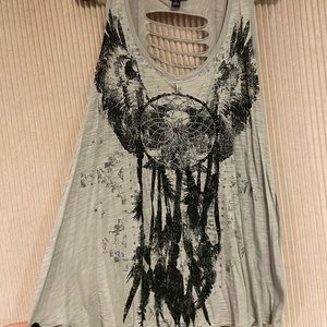 Beautiful dream catcher tank top